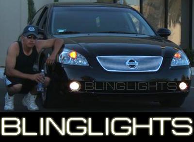 Xenon halogen fog lamps driving lights for 2005 2006 - 2006 nissan altima interior led lights ...
